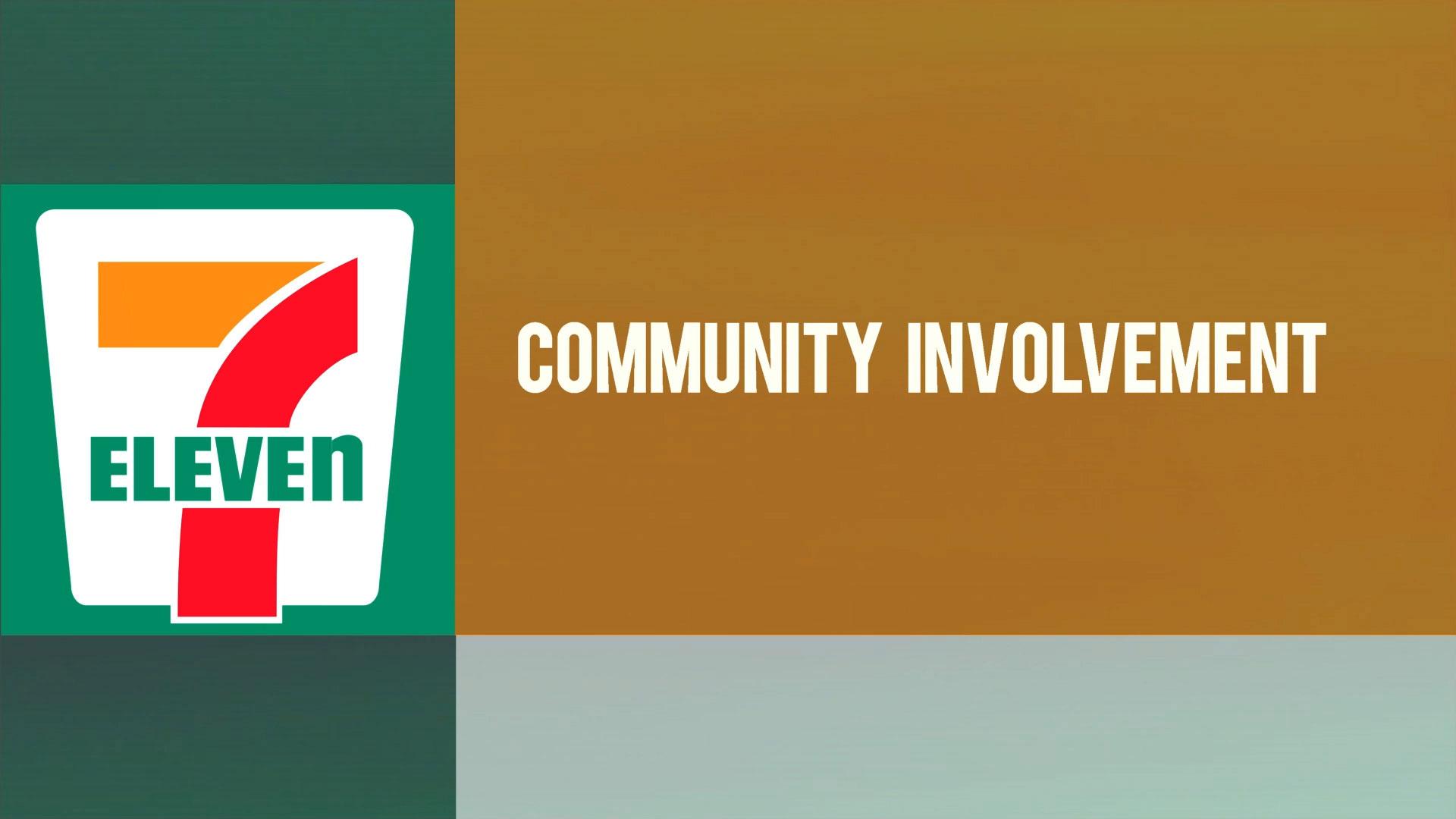 7-Eleven Community Involvement