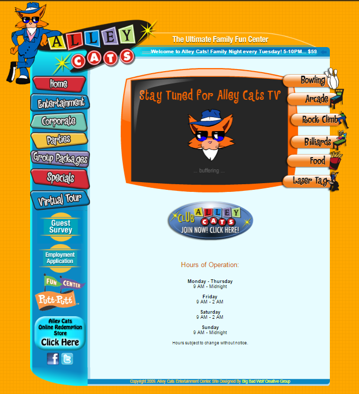 Alley Cats Family Entertainment Center